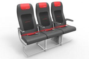 Grupo Lufthansa apresenta novo assento para aviões da família Airbus A320