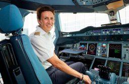 As mulheres estão nos cockpits da Lufthansa há 30 anos