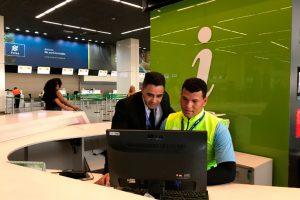 Aeroporto de Brasília faz parceria com a APAE-DF e ganha reforço no atendimento ao cliente na alta temporada
