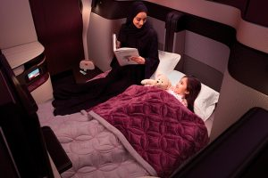 "Qatar Airways apresenta a ""QSuite"""