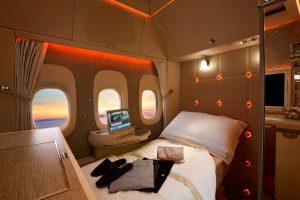 Emirates apresenta novas cabines para sua frota de Boeing 777