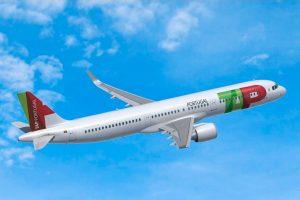 Primeiro airbus A320neo do ano fez hoje voo de estreia para o Funchal