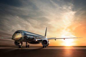 """E195-E2 """"TechLion"""", da Embraer, inicia sua turnê global com visita à China"""