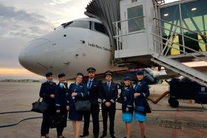 Azul marca sua estreia na Ponte Aérea com festa em Congonhas e no Santos Dumont