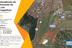 Aeroporto de Uberlândia vai ganhar complexo logístico