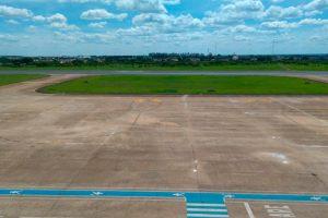 Aeroporto de Uberaba tem pátio de aeronaves revitalizado