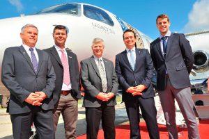 Embraer se torna primeira fabricante a oferecer conectividade de alta capacidade em banda Ka para jatos executivos médios por meio de melhorias no Legacy 450 e Legacy 500